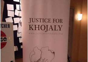 Justice for Khojaly! posters placed In Stockholm