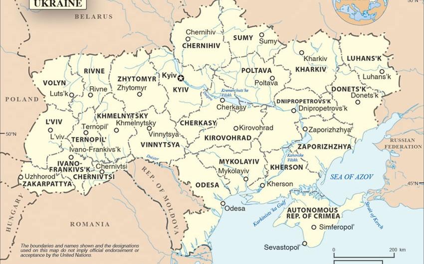 BMT rəhbəri Ukraynada hərbi əməliyyatlara son qoymağa çağırıb