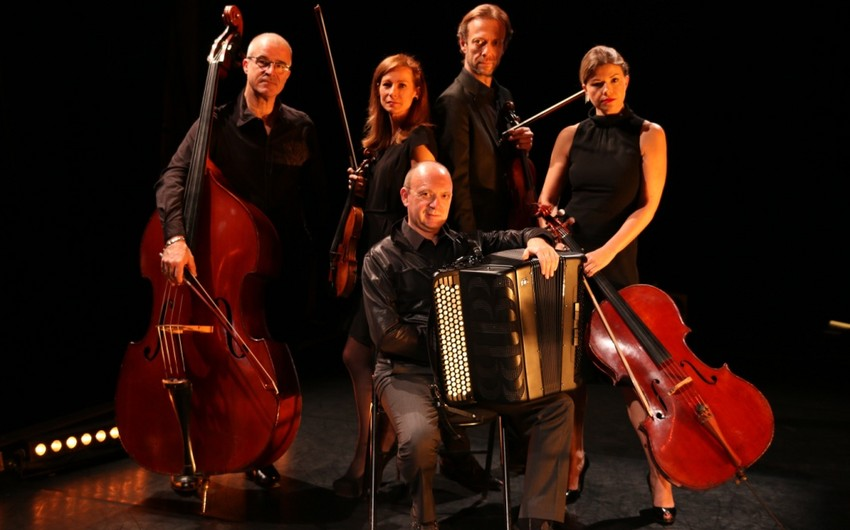 ​Pascal Contet and Travelling Quartet to perform at Heydar Aliyev Center - VIDEO