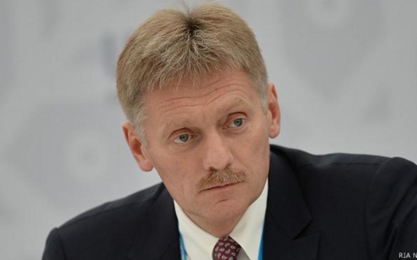 Peskov: Suriyadaki qruplaşmalar arasında fərq qoymaq - primitiv yanaşmadır
