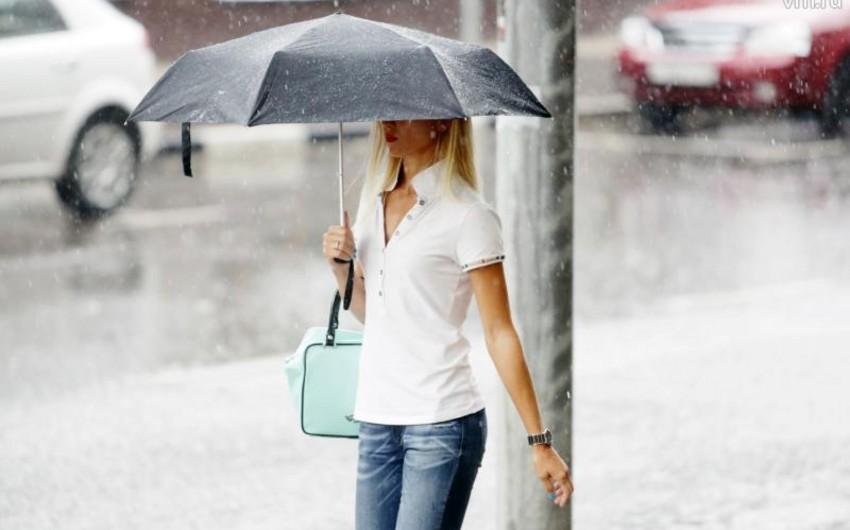 Sabah Bakıda və Abşeron yarımadasında yağış yağacaq