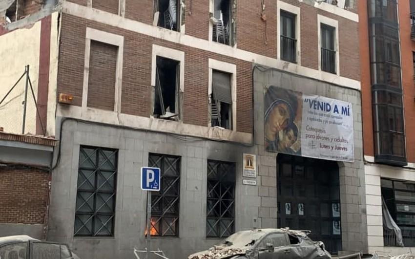 Madriddə güclü partlayış: 11 yaralı, 3 ölü