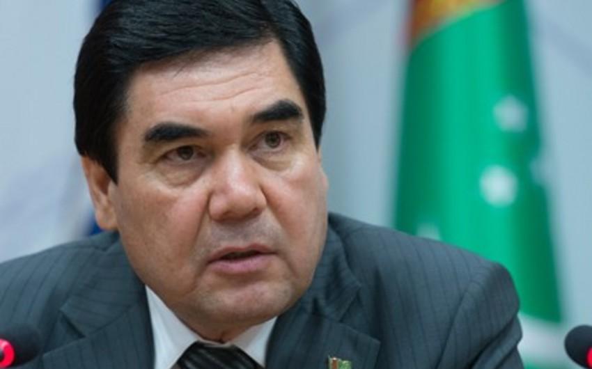 Türkmənistan prezidenti ikipalatalı parlament sisteminə keçməyi təklif edib