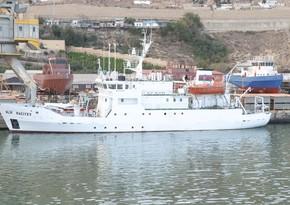 Milli Qəhrəmanın adını daşıyan tədqiqat gəmisi ekspedisiyalara başladı