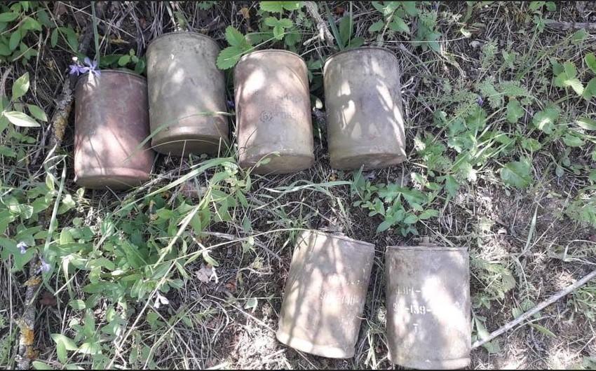 Ağstafada piyada əleyhinə minalar aşkarlandı