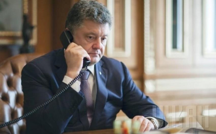 Ukrayna prezidenti Türkiyə səfərini ləğv edib