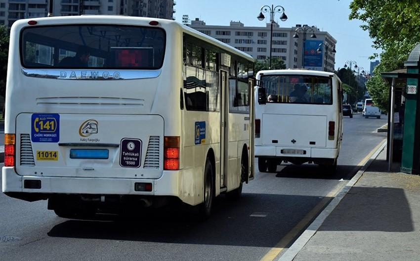 Bakıda 104 nömrəli avtobus marşrutunun hərəkət sxemi dəyişdirilib