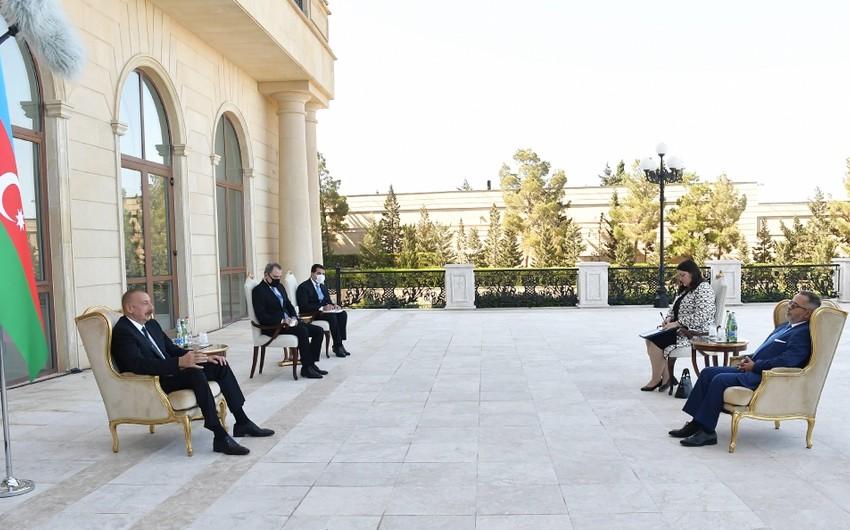 İlham Əliyev: Ermənistan, Yunanıstan və Kipr arasında üçtərəfli hərbi əməkdaşlıq formatı bizi narahat edir