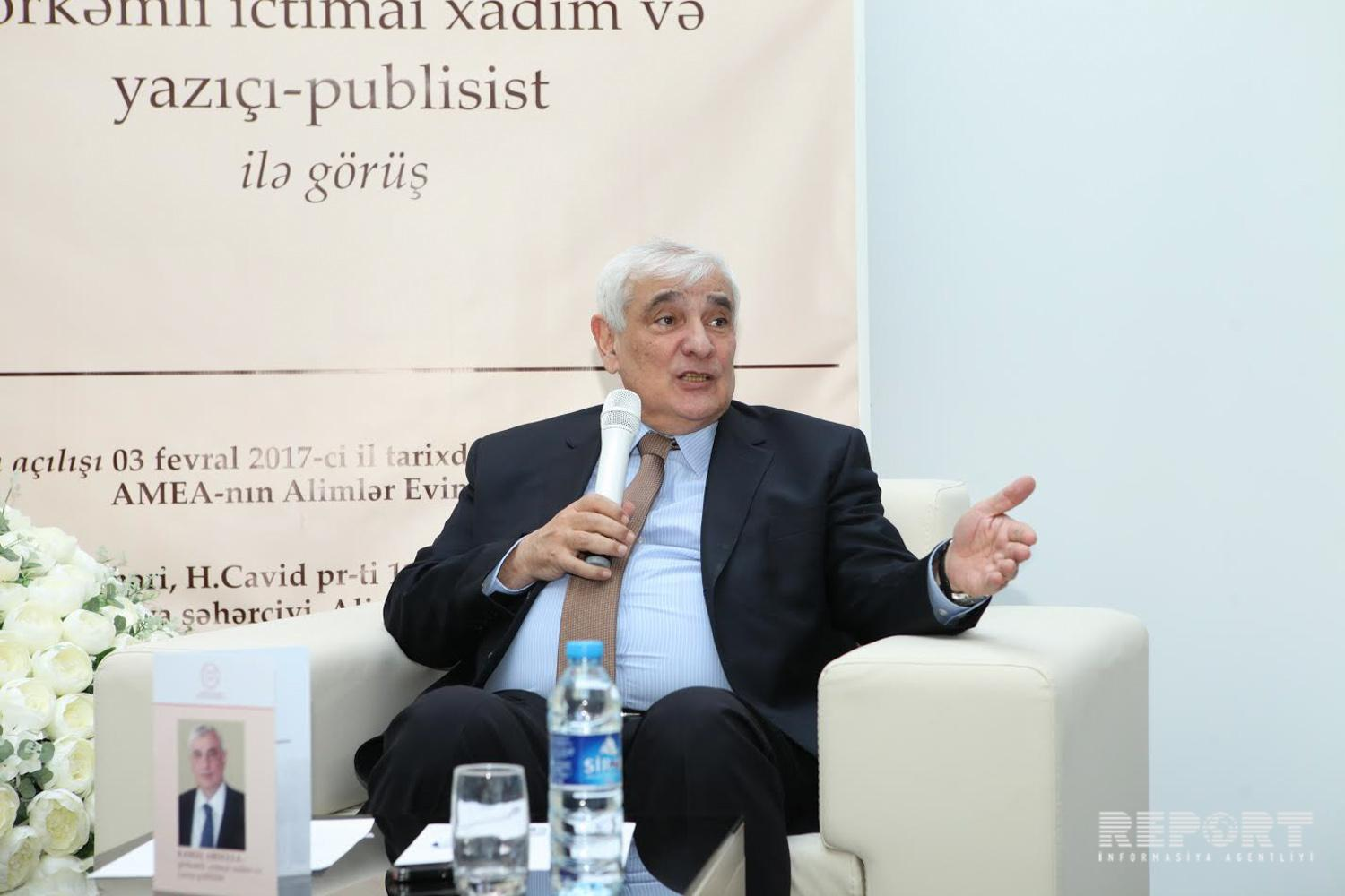 Kamal Abdullayev: I know myself as a person ready to learn for a lifetime