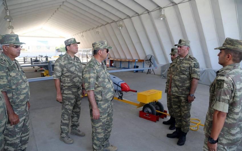 Hərbi Hava Qüvvələrinin hərbi hissəsində yeni yaşayış kompleksi istifadəyə verilib