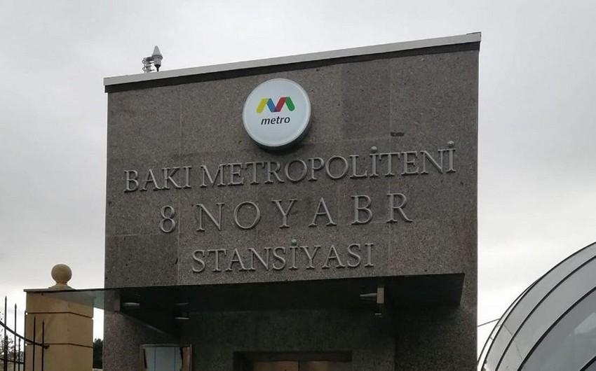 Bakı metrosundan 8 Noyabr stansiyası ilə bağlı görüntülərə münasibət