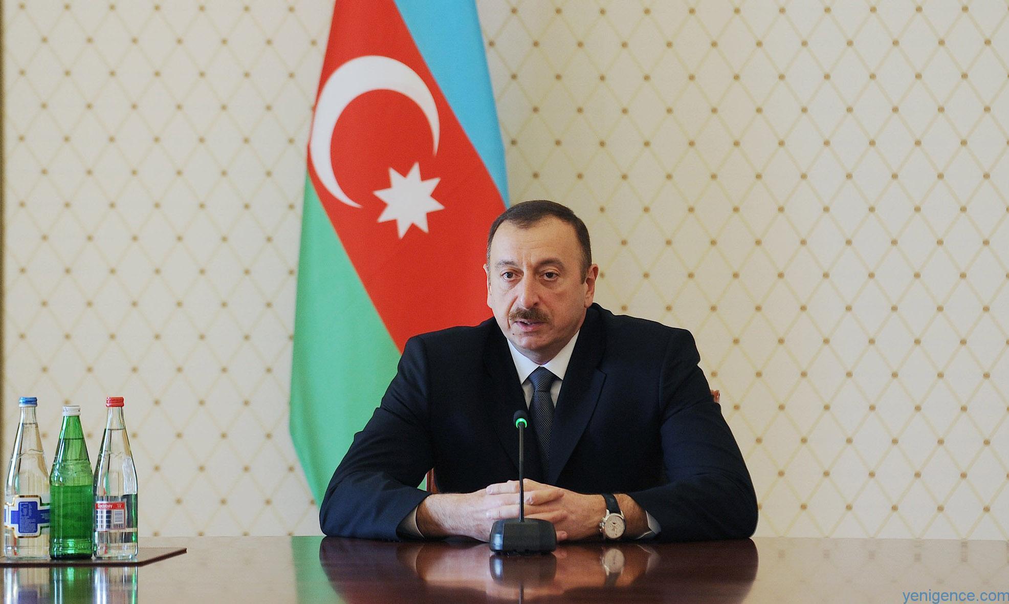 Президент Ильхам Алиев направил поздравительное письмо президенту Кыргызстана