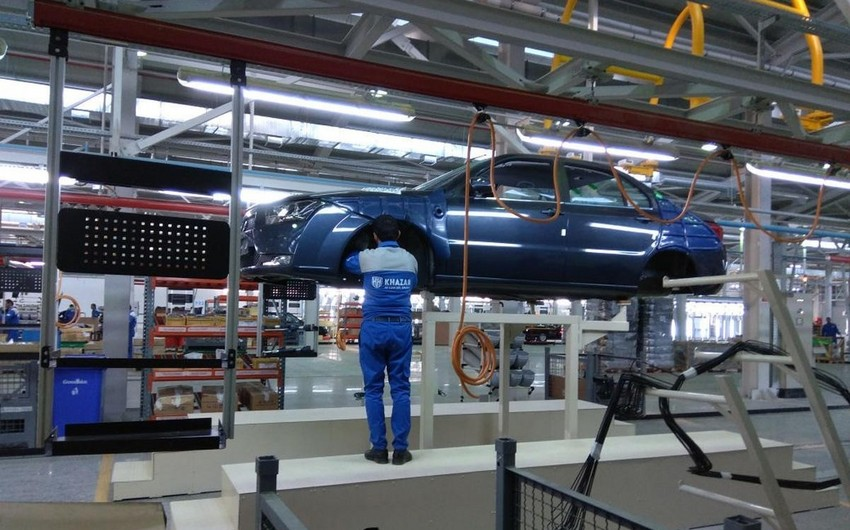 Azərbaycan avtomobil istehsalını 54% artırıb