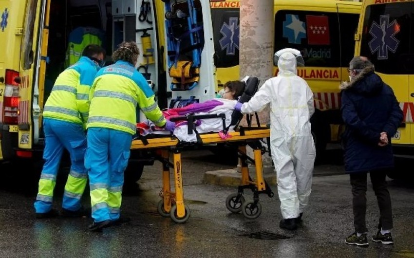 İspaniyada pandemiya qurbanlarının sayı 14,5 mini ötdü