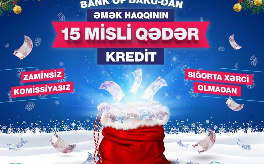 Bank of Baku Yeni İl kampaniyası keçirir