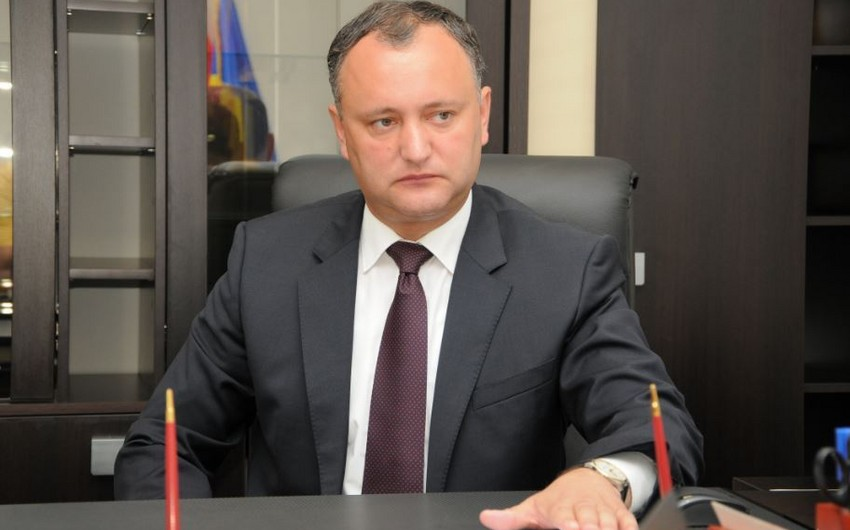 Moldova Prezidenti hazırlanan sui-qəsdlə bağlı anonim məktub alıb