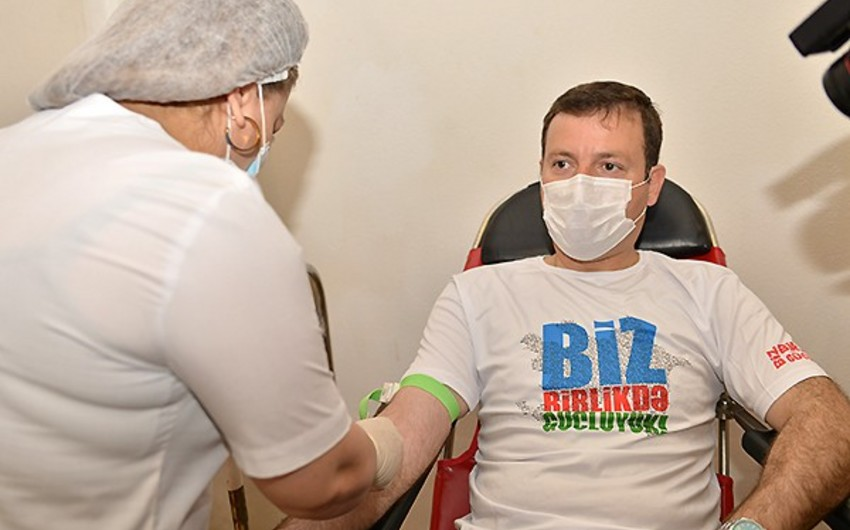 AFFA management attends blood donation campaign