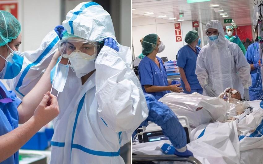 Azərbaycanda koronavirusa yoluxan tibb işçilərinin 90 faizi sağalıb