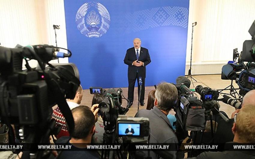 Aleksandr Lukaşenko: Mən istənilən islahata hazıram