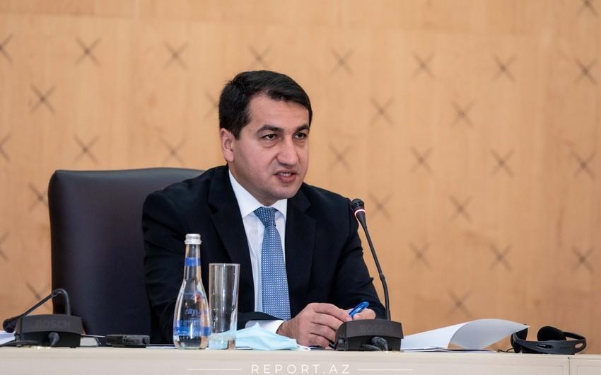 Хикмет Гаджиев: Новая волна дениализма начнется со стороны Армении