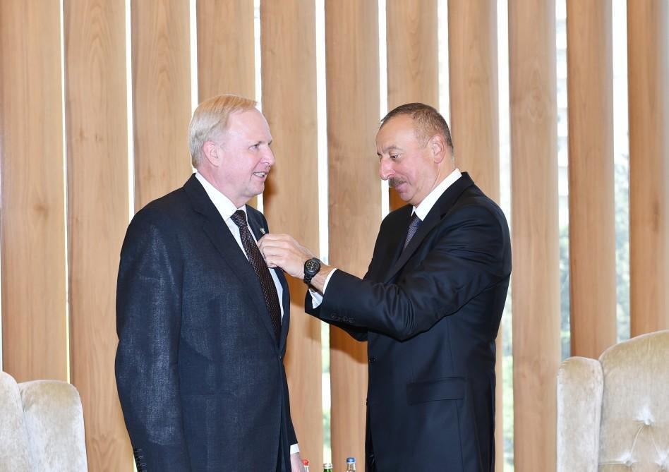 Президент Ильхам Алиев встретился с генеральным исполнительным директором компании ВР