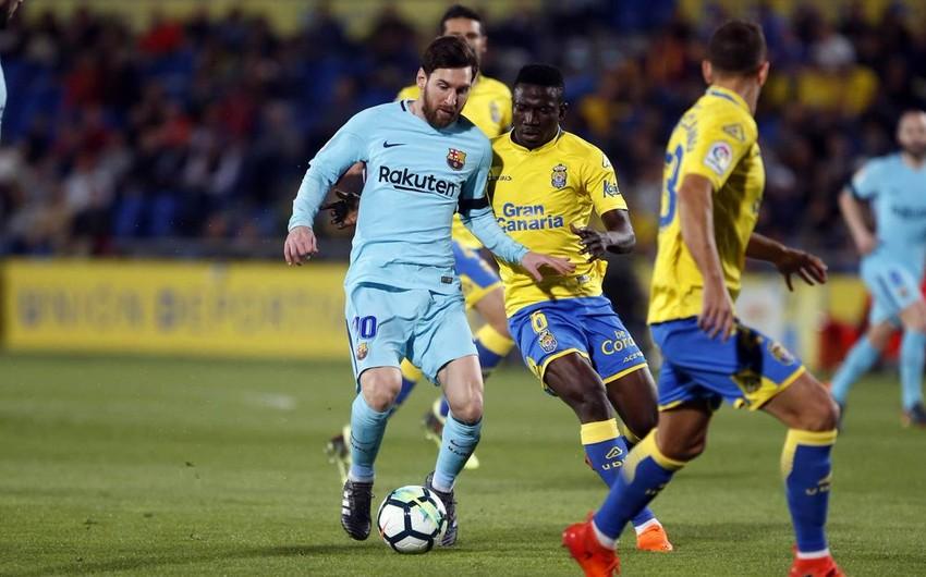 Барселона сыграла вничью с Лас-Пальмасом - ВИДЕО