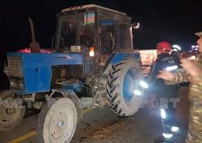 Тяжелая авария в Уджаре, есть погибший и раненый