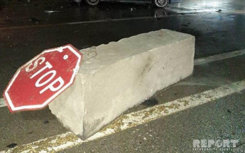 Göygöl rayonunda yol qəzası baş verib, xəsarət alanlar var
