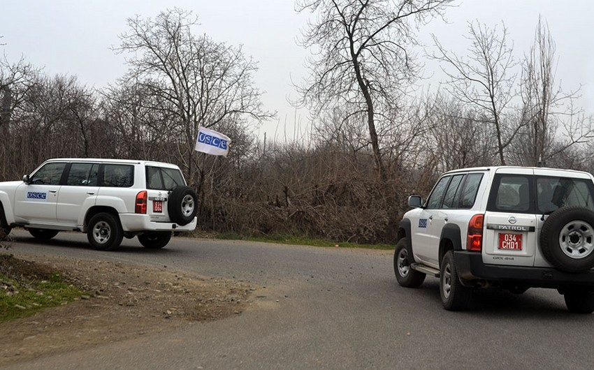 Ceasefire monitoring held on Armenia and Azerbaijan state border