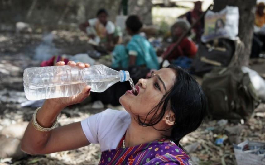 Hindistanda 50 dərəcə isti - 1118 ölü