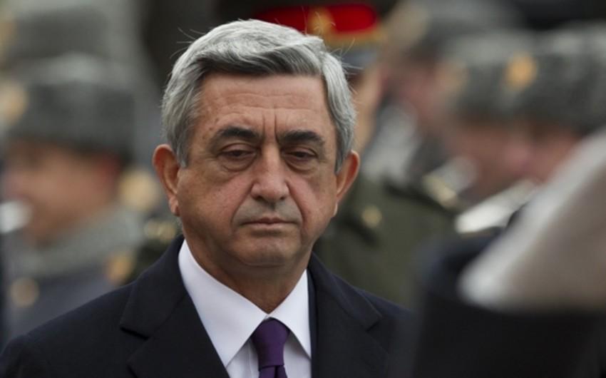 """""""Sarqsyanın hərbi cinayətkar kimi tanınması üçün 100 min səs"""" kampaniyasına start verilib"""