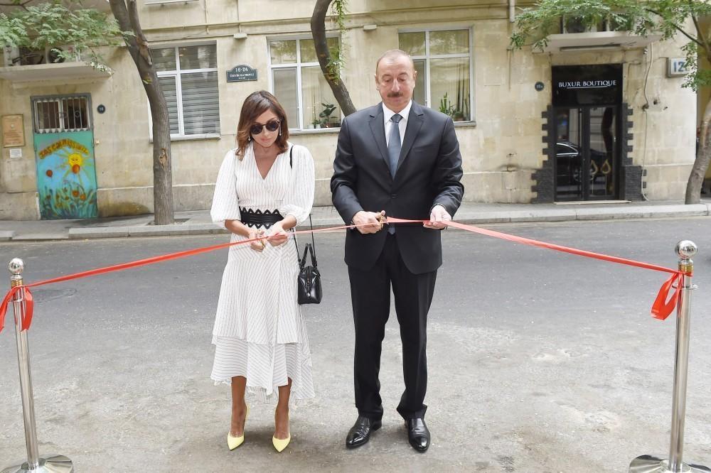 Opening of Baku Book Center established on initiative of Heydar Aliyev Foundation held