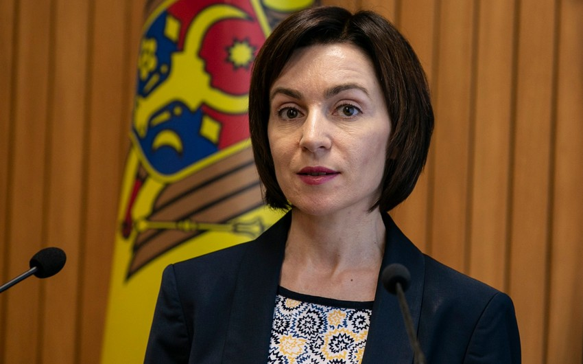 """Sandu: """"Moldova Avropa İttifaqı ailəsində öz yerini tutmalıdır"""""""