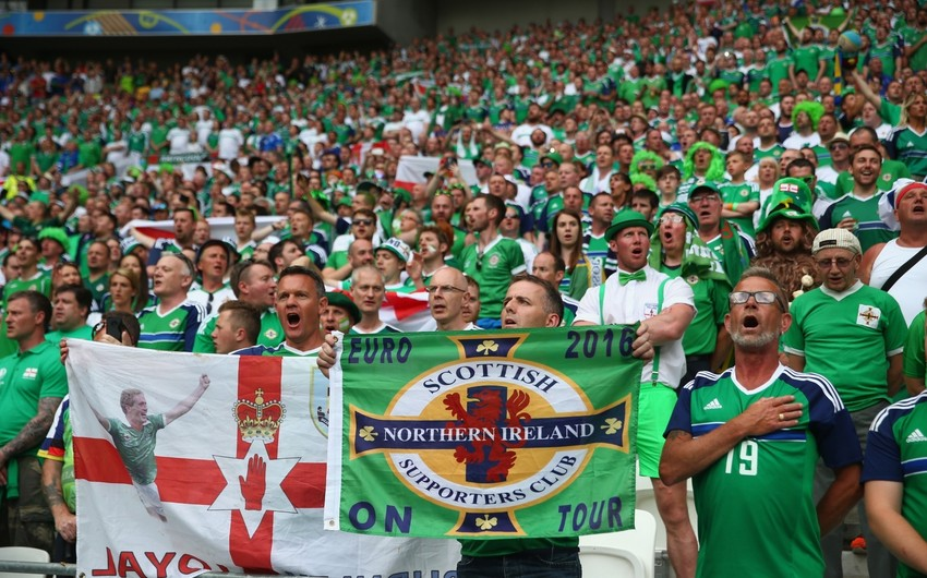В Баку на матч с Северной Ирландией приедет 300 болельщиков