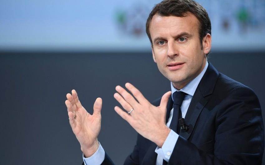 KİV: Fransa Prezidenti PKK-nın yaratdığı təşkilata maliyyə yardımı edəcək