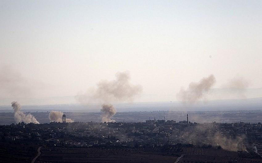 İsrail Suriyaya hava zərbəsi endirib
