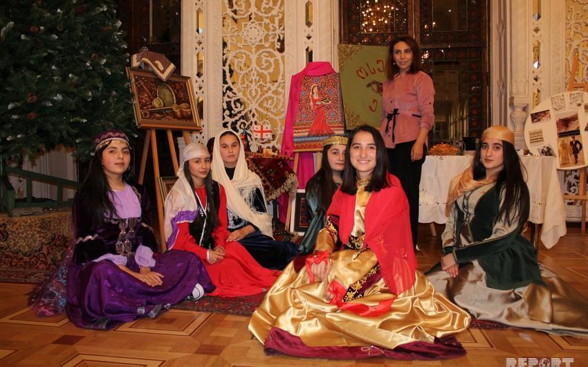 Gürcüstan azərbaycanlıları Tbilisidə milli adətlərini nümayiş etdiriblər - FOTO