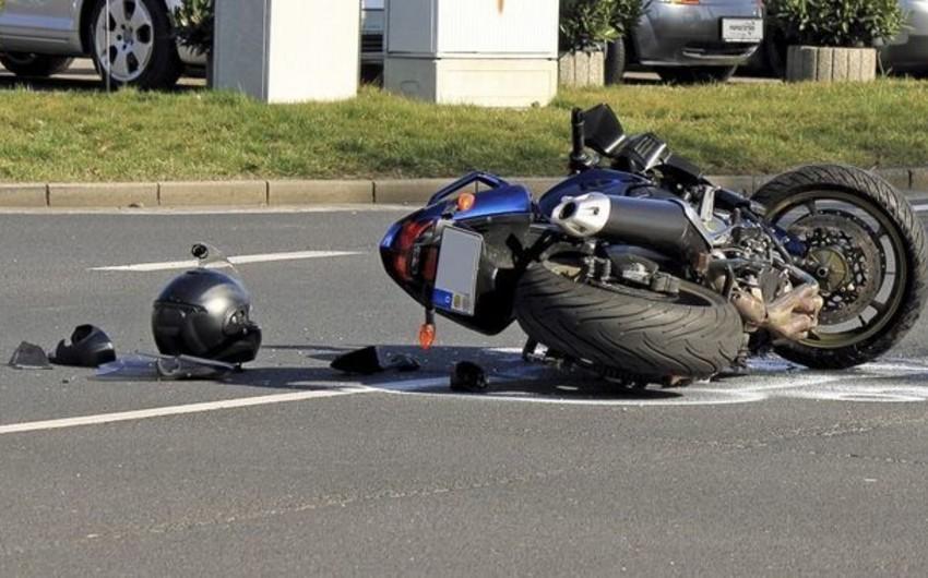 Polish tourist had car accident in Sheki