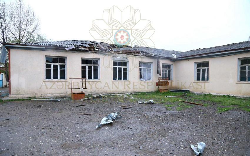 Nazirlik: Təhsil müəssisələrinə ciddi ziyan dəyib