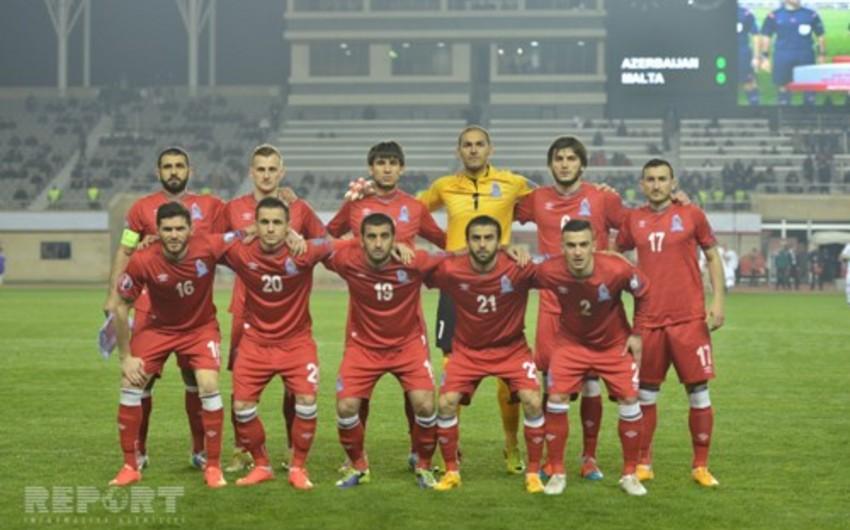 Azərbaycan milli komandası FİFA reytinqində 22 pillə geriləyib