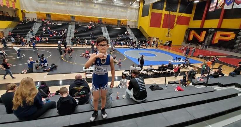 Azerbaijani boy living in US succeeds in 3 sports
