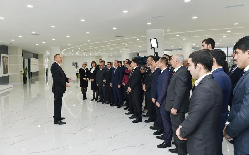 Dövlət başçısı: Bu gün Azərbaycan dünya miqyasında idman dövləti kimi tanınır