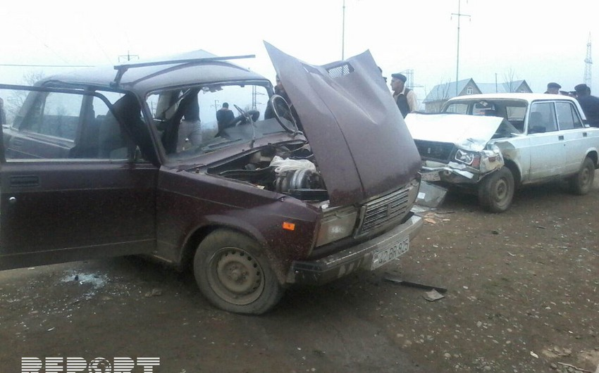 Ağsuda ağır yol qəzasında 6 nəfər ölüb, 1 nəfər yaralanıb - YENİLƏNİB-2 - SİYAHI