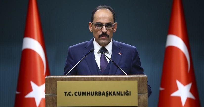 İbrahim Kalın: Azərbaycan Qarabağ məsələsində beynəlxalq hüquqa uyğun hərəkət edib