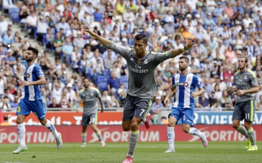 Kriştiano Ronaldo Realın tarixində ən yaxşı bombardir olub - VİDEO