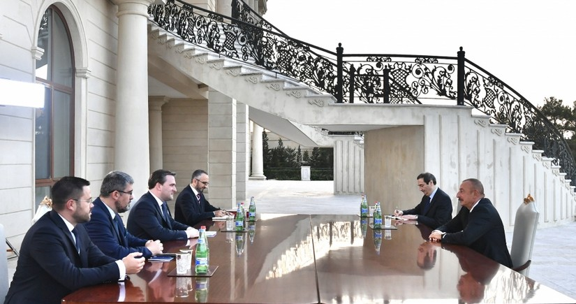 Prezident serbiyalı naziri qəbul edib - YENİLƏNİB