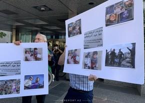 Vaşinqtonda erməni təxribatının qarşısı alındı