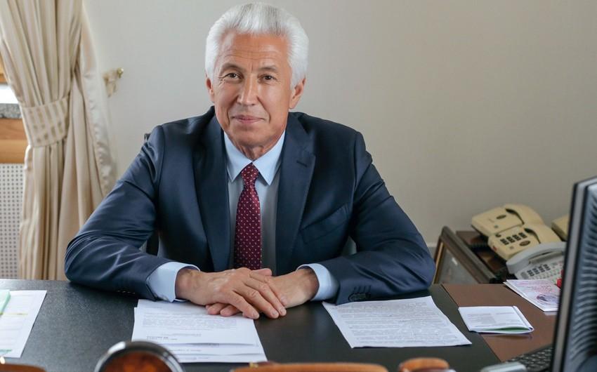 Dağıstan Respublikasının başçısı vəzifəsinin müvəqqəti icraçısı Azərbaycan Prezidentini təbrik edib
