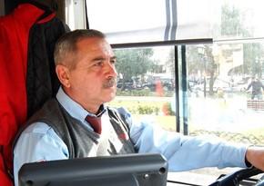 Bakıda avtobus sürücüsünün gündəlik iş rejimi necədir? - VİDEO