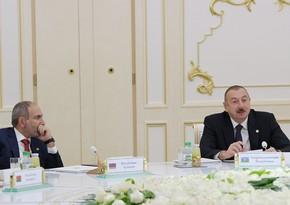 Aşqabadda Prezidentimiz Paşinyanı fakt qarşısında qoydu - RƏY